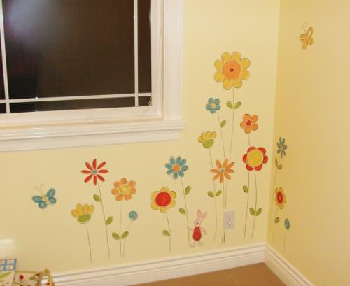 Child's room mural | Murals by Sheila Rae Van Delft