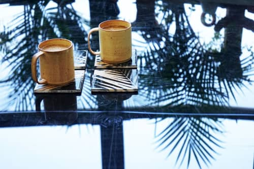 Tableware by Wolf City Design - Bianca and Mick Palm