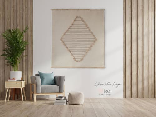 laine tapestry   Wall Hangings by Lale Studio