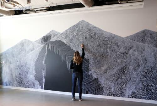 Divide, 2016   Murals by Katy Ann Gilmore