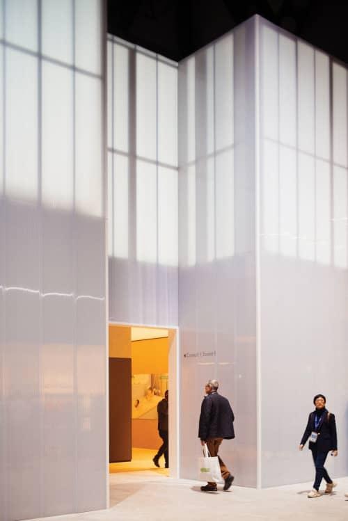 Booth at ISH 2019, hansgrohe/AXOR   Interior Design by 1zu33 Architectural Brand Identity   Frankfurt(Main) Messe in Frankfurt