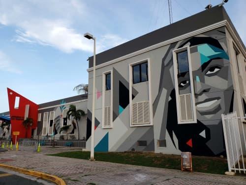 Mural for Port Authority of Puerto Rico   Murals by Spear Torres   Autoridad de los Puertos de Puerto Rico in San Juan