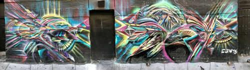 Street Murals by Max Ehrman (Eon75) at Tenderloin, San Francisco, CA, San Francisco - For The Love Of The City