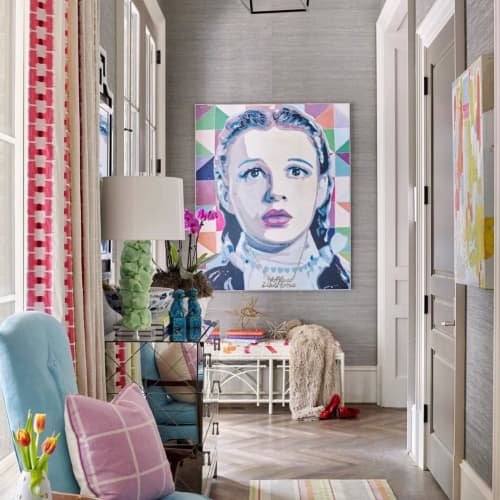 """Paintings by Mark Boomershine seen at Private Residence, Atlanta - """"There's no place Like Home""""! Dorothy"""