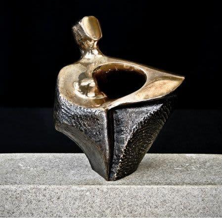 HOPE, bronze   Sculptures by Hilde DeBruyne Art & Design LLC