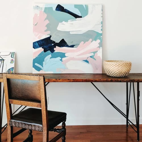 Paintings by Anne Abueva Studio at Serena & Lily Design Shop, Dallas - Love Letter