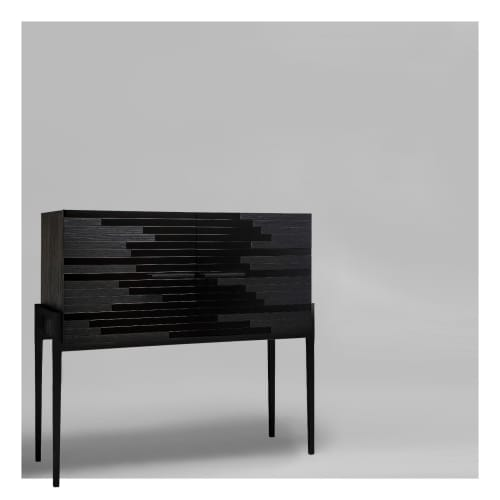 Vind Modern Sideboard in Black   Furniture by Larissa Batista