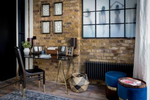 Interior Design by Barlow & Barlow Design Ltd. / Lucy Sear Barlow seen at Private Residence, London - Media Executive Interior