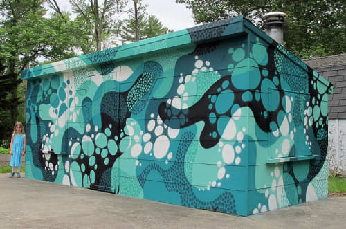 MWM Organic.   Murals by MATT W. MOORE