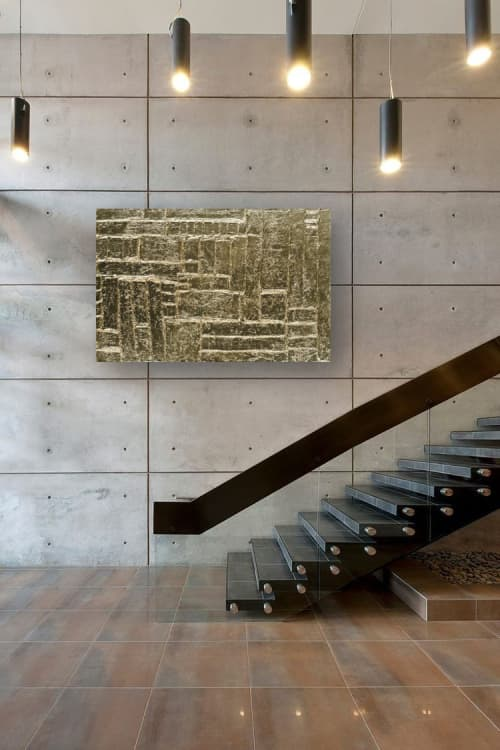 PHARAOH | Paintings by Christina Twomey Art + Design | Private Residence - New York in New York