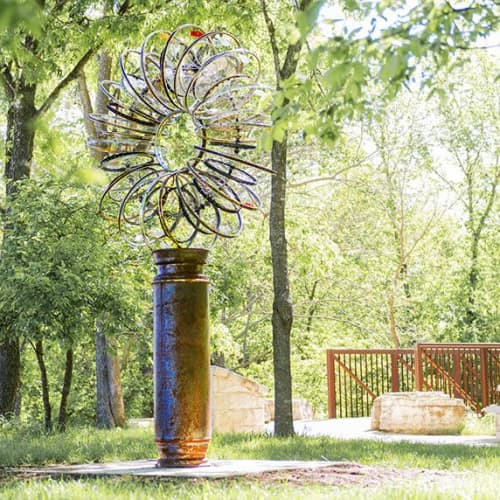 SOLAR WIND   Public Sculptures by Patricia Vader