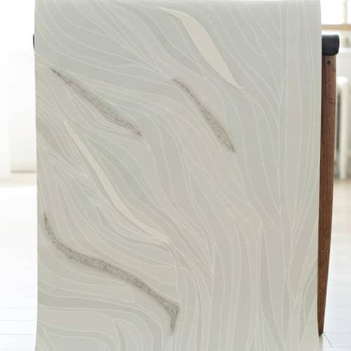 Wallpaper by Jill Malek Wallpaper - Currents | Dimensional Felt