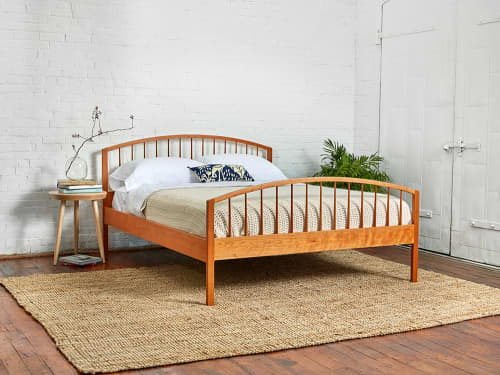 Beds & Accessories by Chilton Furniture Co. seen at Creator's Studio, Freeport - Chilton's Burnette Bed