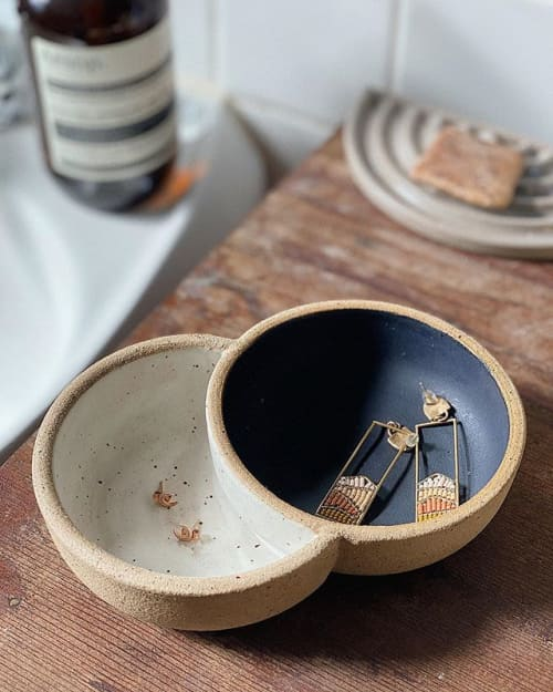 Tableware by Siera Matsuo Ceramics seen at Sfingiday, Seattle - Mini Eclipse Bowl