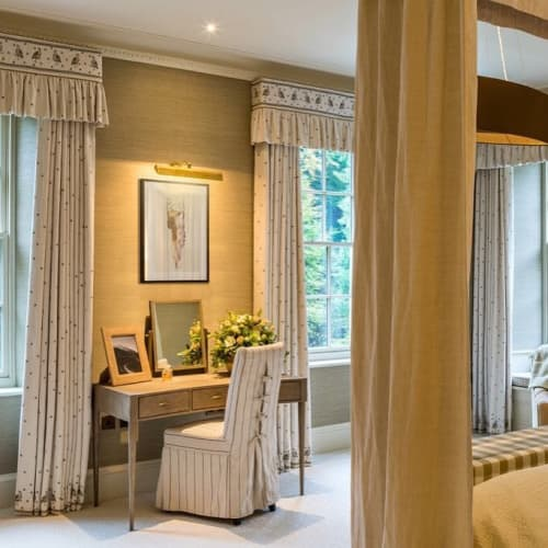 Curtains & Drapes by Chelsea Textiles seen at Private Residence, London - Wee Beasties