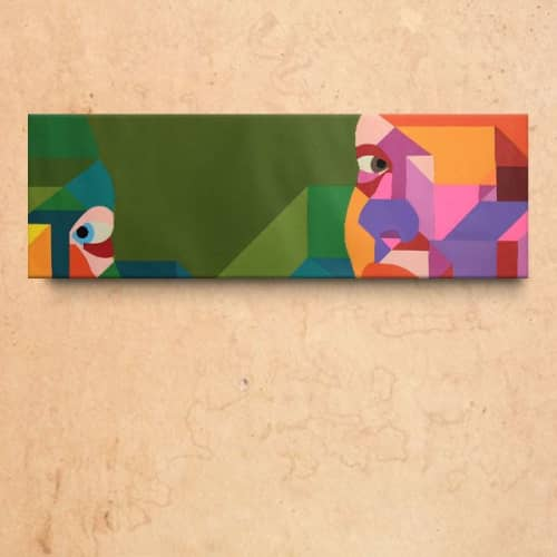 Art Curation by Moleiro Artwork - Ella