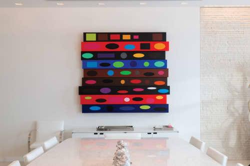Sounding | Paintings by Michael Finnegan | InSite Real Estate in Oak Brook