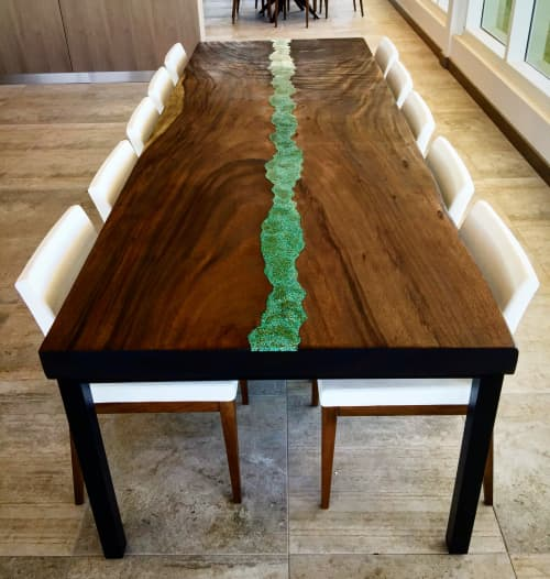 Multiple Tables for Apartment Building | Tables by Doro Designs | Camden Pier District in St. Petersburg