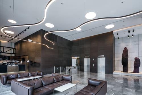 Harel M.E.A Office Building | Lighting Design by Rama Mendelsohn Lighting Design