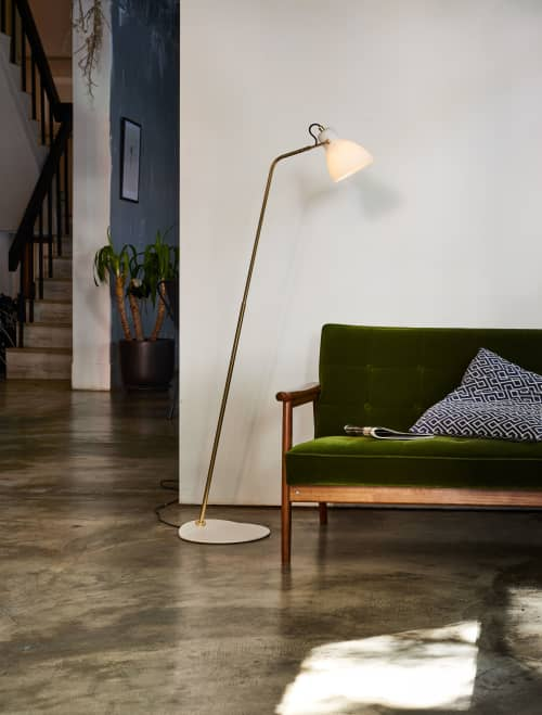 LAITO OPAL Floor Lamp | Lamps by SEED Design USA