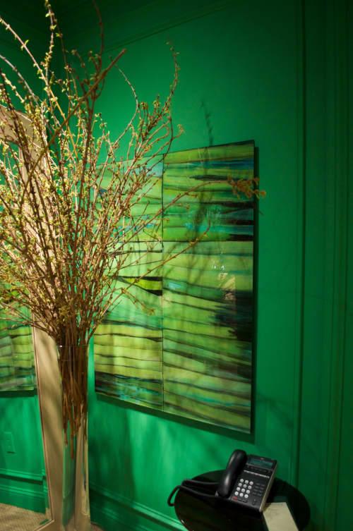 Paintings by Lisa Tureson  STUDIO ARTISTICA seen at North Carolina - Grasses