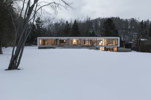 Architecture by Atelier RZLBD seen at Private Residence, Toronto - Opposite House