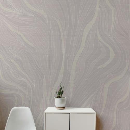 Wallpaper by Jill Malek Wallpaper - Currents | Warm Dust