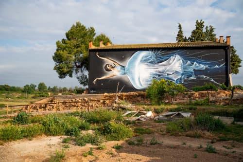 'Medusa's dance | Street Murals by SimpleG