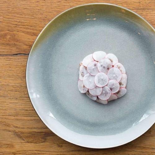 Gastro Dinner Plate   Ceramic Plates by Mieke Cuppen   Ron Gastrobar in Amsterdam