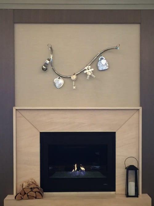 Art & Wall Decor by Peter Kirkiles Studio at Delamar West Hartford, West Hartford - Charm Bracelet Sculpture