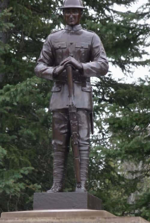Boothby, John - Bronze sculpture   Public Sculptures by Don Begg / Studio West Bronze Foundry & Art Gallery