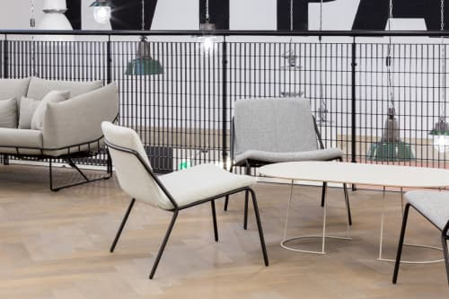 Sling Lounge   Chairs by m.a.d. furniture design