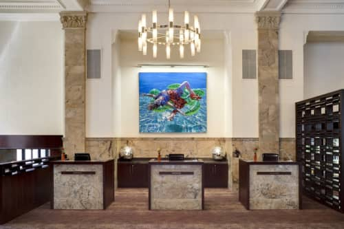 Art Curation by NINE dot ARTS at Courtyard by Marriott San Diego Downtown, San Diego - Art Curation