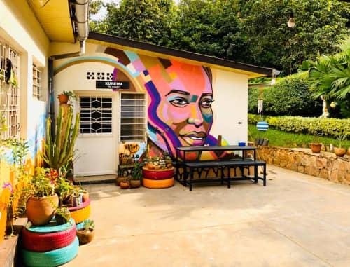 Riding through Kigali | Murals by Viktart Mwangi