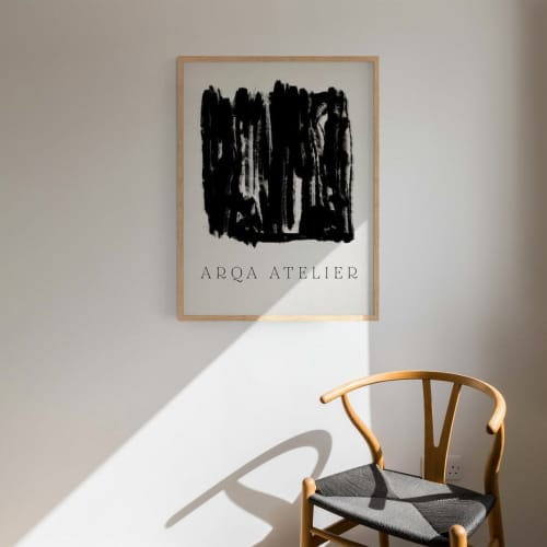 Art & Wall Decor by forn Studio by Anna Pepe seen at Creator's Studio, Tbilisi - Giclee Print #043