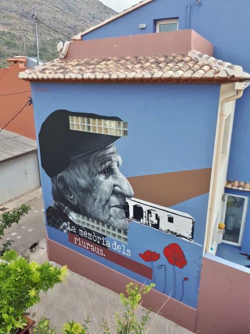 "The memory of the ""riuraus"". | Murals by XOLAKA"