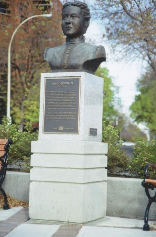 Bowman, Maude | Public Sculptures by Don Begg / Studio West Bronze Foundry & Art Gallery