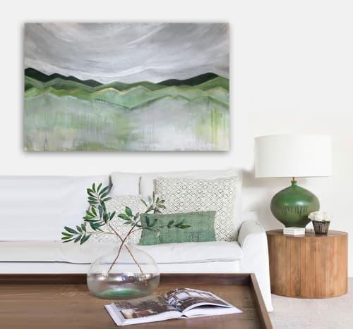 'ASCENT'   Paintings by Linnea Heide contemporary fine art