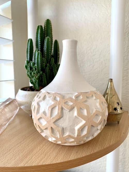 Tessellation Bottle   Vases & Vessels by Ceewave