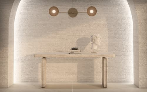 Tables by Davani - Davani Purity Console Table