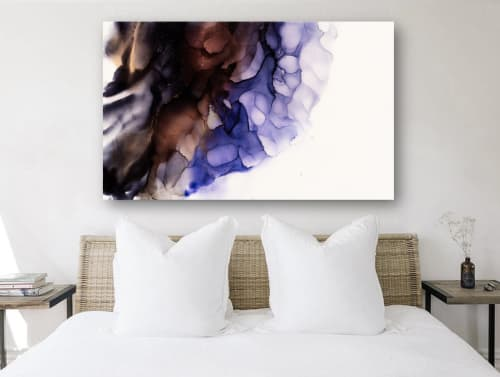 BLACK ORCHID | Paintings by Christina Twomey Art + Design