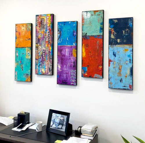 Paintings created for Investment Advisors office   Paintings by ERIN ASHLEY