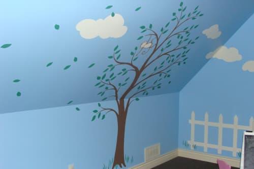 Playroom mural | Murals by Sheila Rae Van Delft