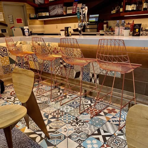 Lucy Bar Stool | Chairs by Bend Goods | Urth Caffe & Bar LAX in Los Angeles
