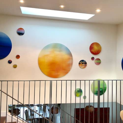 Art Constellations | Paintings by Marine Gueguen Strage