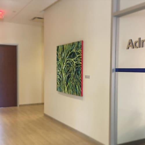 Paintings by Lisa Rachel Horlander seen at The Ben and Maytee Fisch College of Pharmacy, Tyler - Diurnal