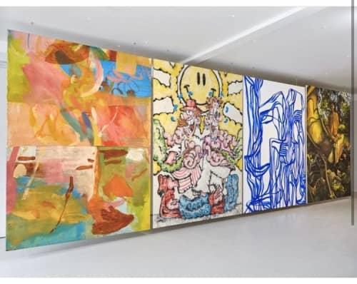 Full English exhibition   Paintings by Crystal Fischetti   Platform Southwark in London