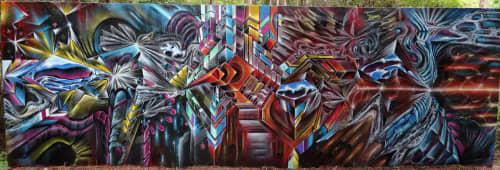 Paintings by Max Ehrman (Eon75) seen at Naples, FL, Naples - Organized Love