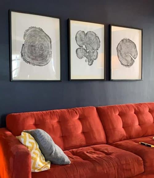 Pine, Cedar, and Locust Tree   Art & Wall Decor by Erik Linton