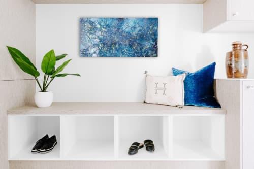 Wall Hangings by Chieko Shimizu Fujioka seen at Private Residence - Night Curtain